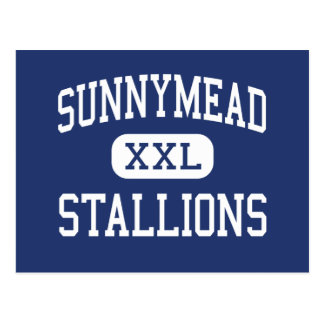 Sunnymead Stallions Middle Moreno Valley Postcards