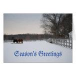 Sunnyside Holiday Card Greeting Card