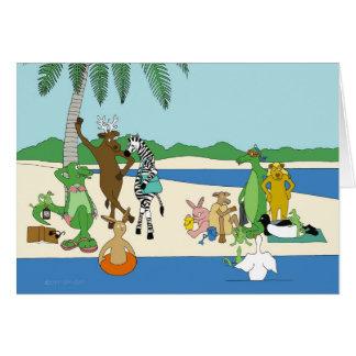Sunnyside Up Beach Birthday Card