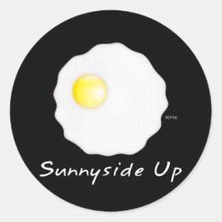 Sunnyside Up Classic Round Sticker