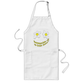 Sunnyside Up or Over Easy? Long Apron