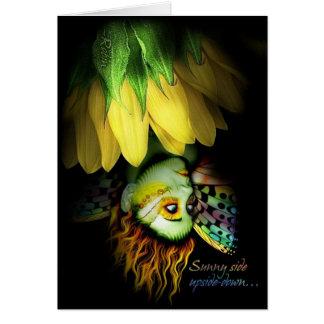 Sunnyside Upside-down Card