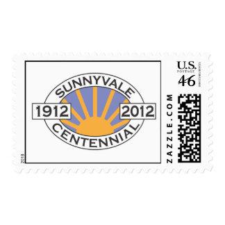 Sunnyvale Centennial Stamps