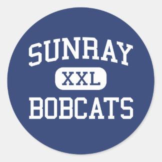 Sunray - Bobcats - High School - Sunray Texas Sticker