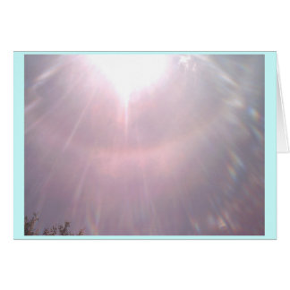 Sunray Tarjeta De Felicitación