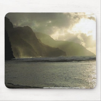 Sunrays on Carribean Shore pad Mouse Pad