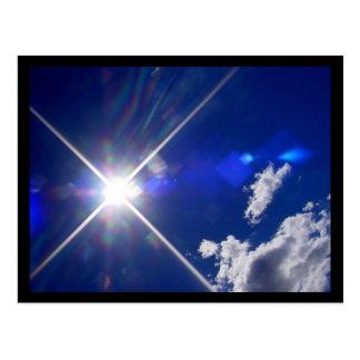 Sunrays Postcard