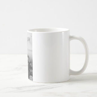 Sunrays scattered by clouds over Trieste Bay Coffee Mug