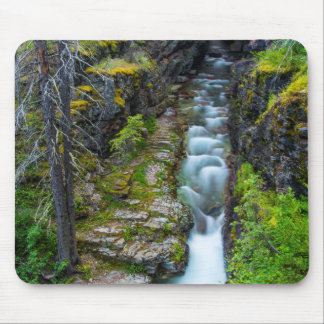 Sunrift Gorge In Glacier National Park, Montana 2 Mouse Pad