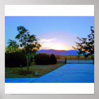 Sunrise 001 print