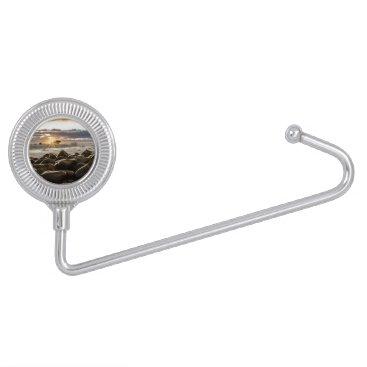 Beach Themed sunrise-1239727 purse hanger