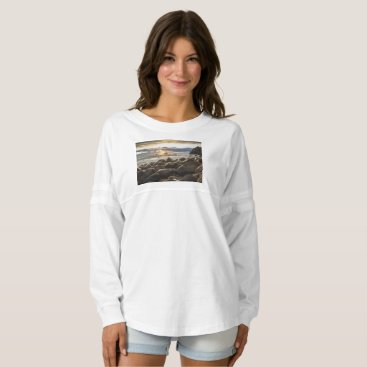Beach Themed sunrise-1239727 spirit jersey