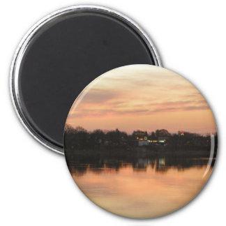 Sunrise 2 Inch Round Magnet
