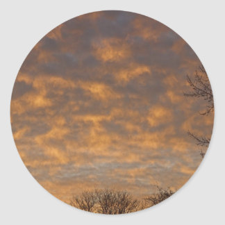 Sunrise_360.jpg Classic Round Sticker