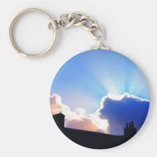 Sunrise 3 keychain