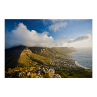 Sunrise Above Camps Bay And Table Mountain Poster