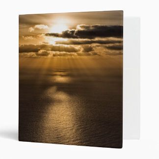 Sunrise above the Atlantic ocean Binder