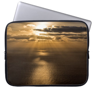 Sunrise above the Atlantic ocean Laptop Computer Sleeve