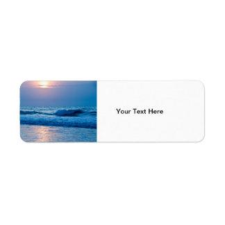 Sunrise Address Label
