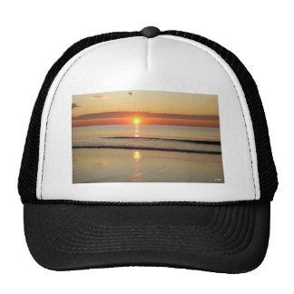Sunrise Along Hampton Beach New Hampshire Trucker Hat