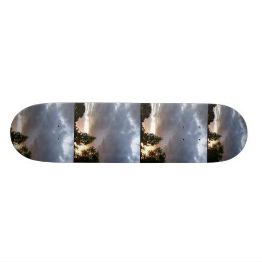 Sunrise Along Ohio Valley Skateboard