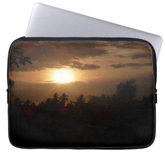 Sunrise Among The Palms Laptop Sleeve