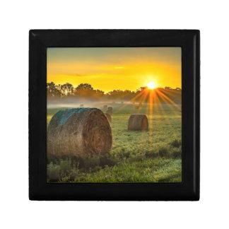 Sunrise and Bales Gift Box
