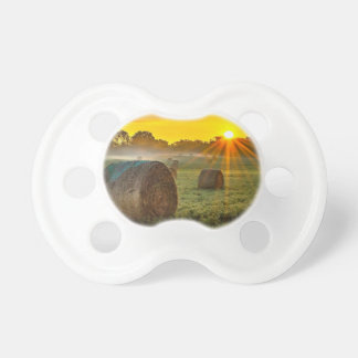 Sunrise and Bales Pacifier