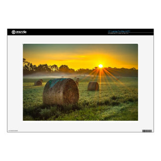 Sunrise and Bales Skin For Laptop