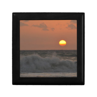 Sunrise and Waves Keepsake Box