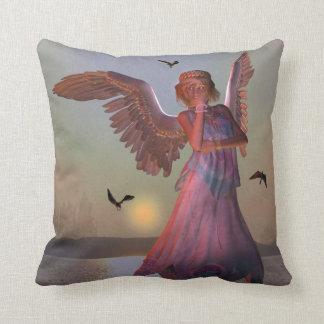 Sunrise Angel Double Side Print Pillow