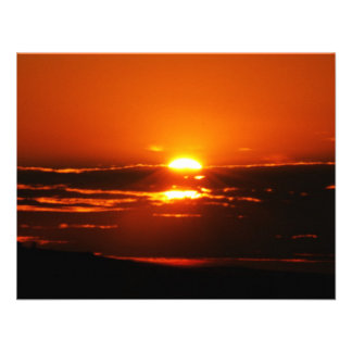 Sunrise As The Day Breaks Personalized Invitations