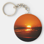 Sunrise As The Day Breaks Keychains