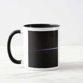 Sunrise as viewed in space mug