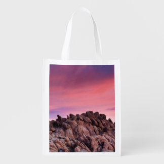 Sunrise at Alabama Hills Reusable Grocery Bag