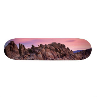 Sunrise at Alabama Hills Skateboard