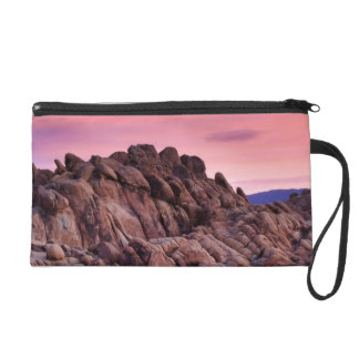 Sunrise at Alabama Hills Wristlet Purse