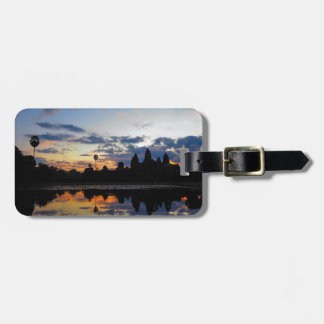 Sunrise at Angkor Wat, Cambodia Bag Tag