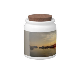 Sunrise at Atlantic Highlands New Jersey Candy Dish