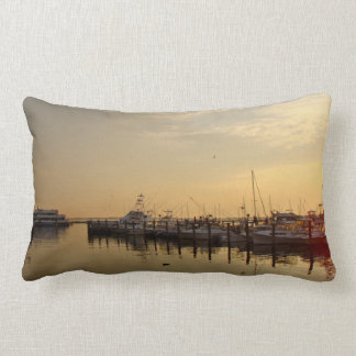 Sunrise at Atlantic Highlands New Jersey Lumbar Pillow