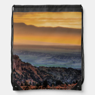 Sunrise at Bryce Canyon Drawstring Bag