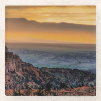 Sunrise at Bryce Canyon Glass Coaster