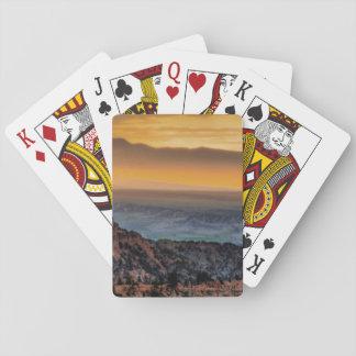 Sunrise at Bryce Canyon Poker Deck