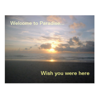 Sunrise at Cocoa Beach, Florida Postcard
