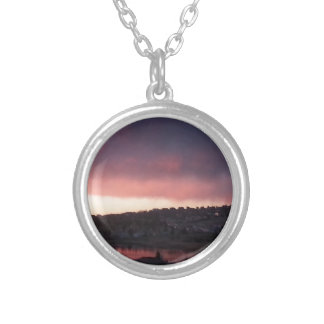 Sunrise at Colorado Springs, CO Necklaces
