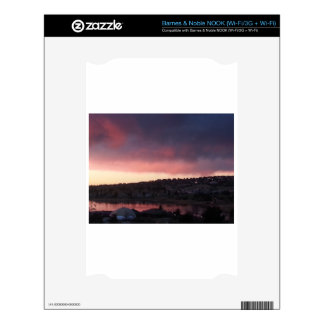 Sunrise at Colorado Springs, CO NOOK Decal