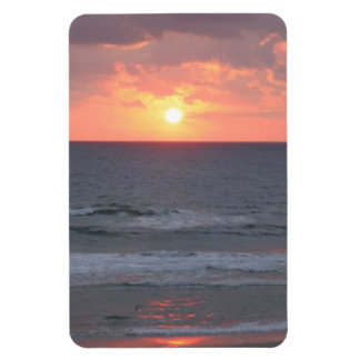 Sunrise At Florida Beach Magnet