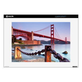 """Sunrise At Fort Point Decals For 15"""" Laptops"""