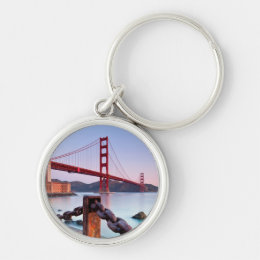 Sunrise At Fort Point Keychain