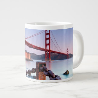 Sunrise At Fort Point Large Coffee Mug